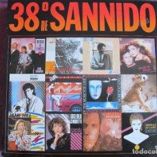 Discos de vinilo: LP - 38º DE SANNIDO - VARIOS (VER FOTO ADJUNTA) (SPAIN, SANNI RECORDS 1985). Lote 149352606