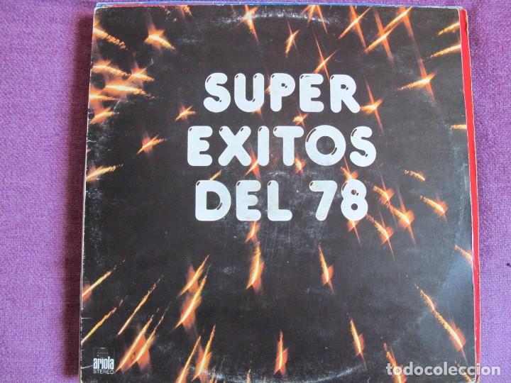 LP - SUPEREXITOS DEL 78 - VARIOS (VER FOTO ADJUNTA) (SPAIN, ARIOLA 1978) (Música - Discos - LP Vinilo - Solistas Españoles de los 70 a la actualidad)