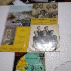 Discos de vinilo: LOS BOCHEROS / 5 EP 45 RPM / LOTE . Lote 149359226