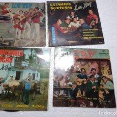 Discos de vinilo: LOS XEY / 4 EP 45 RPM / LOTE. Lote 149359426