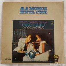 Discos de vinilo: LP / B.S.O. ORFEO NEGRO / HISTORIA DE LA MUSICA EN EL CINE Nº 10 / 1982. Lote 149363198