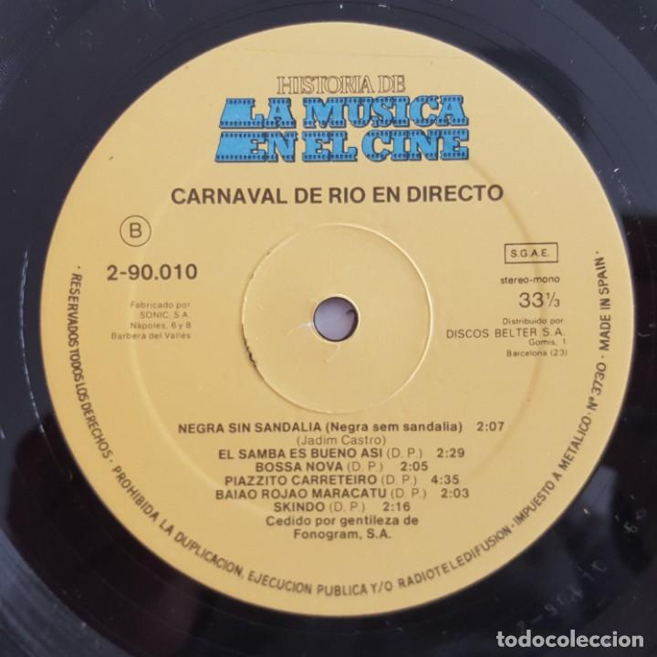 Discos de vinilo: LP / B.S.O. ORFEO NEGRO / HISTORIA DE LA MUSICA EN EL CINE Nº 10 / 1982 - Foto 4 - 149363198