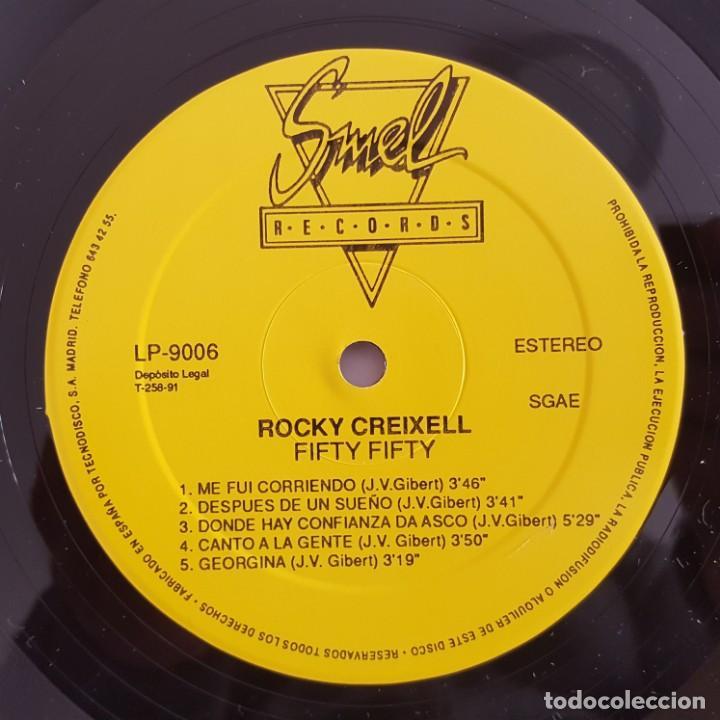 Discos de vinilo: LP / ROCKY CREIXELL GEORGE BEHONEY / FIFTY FIFTY / 1991 - Foto 4 - 149368838