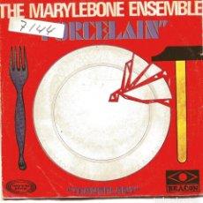 Discos de vinilo: THE MARYLEBONE ENSEMBLE / PORCELAIN / TRANSPLANT (SINGLE 1969). Lote 149369690