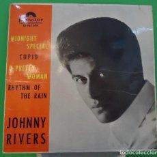 Discos de vinilo: EP 7'' JOHNNY RIVERS - MIDNIGHT SPECIAL +3 . Lote 149371742