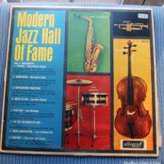 Discos de vinilo: VVAA. MODERN JAZZ. HALL OF FAME VOLUME I. DESIGN, USA 1957 LP MONO. Lote 149376214