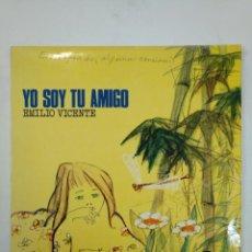 Discos de vinilo: EMILIO VICENTE MATEU. - YO SOY TU AMIGO - LP. TDKDA18. Lote 149376594