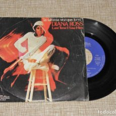 Discos de vinilo: DIANA ROSS - LA ULTIMA VEZ QUE LO VI / LAST TIME I SAW HIM - SINGLE - MOTOWN 1974 SPAIN. Lote 149378126