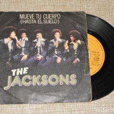 Discos de vinilo: THE JACKSONS / MUEVE TU CUERPO / ESO ES LO QUE CONSIGUES (SINGLE 1978). Lote 149381962