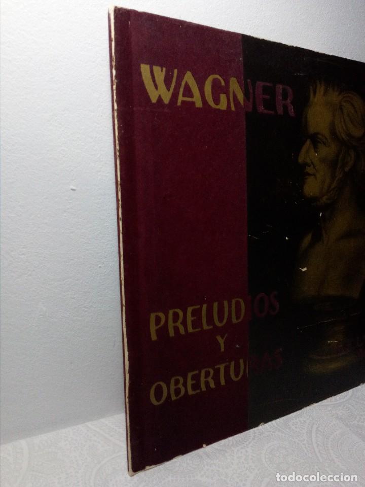 Discos de vinilo: DISCO VINILO RICHARD WAGNER (PRELUDIOS Y OBERTURAS) ESPAÑA BELTER VOX AÑOS 50 - Foto 8 - 149388354