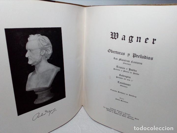 Discos de vinilo: DISCO VINILO RICHARD WAGNER (PRELUDIOS Y OBERTURAS) ESPAÑA BELTER VOX AÑOS 50 - Foto 13 - 149388354