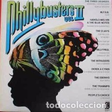 Discos de vinilo: VARIOUS - PHILLYBUSTERS VOL. II (LP, COMP) LABEL:PHILADELPHIA INTERNATIONAL RECORDS CAT#: PIR 80433. Lote 149428014