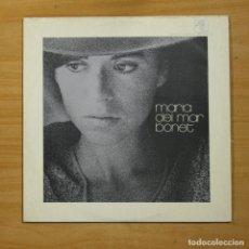 Discos de vinilo: MARIA DEL MAR BONET - MARIA DEL MAR BONET - LP. Lote 149438606