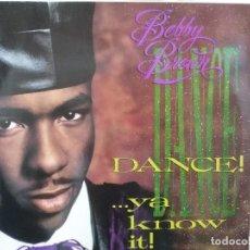 Discos de vinilo: BOBBY BROWN - DANCE!... YA KNOW IT - LP. DEL SELLO MCA RECORDS 1989. Lote 149439442