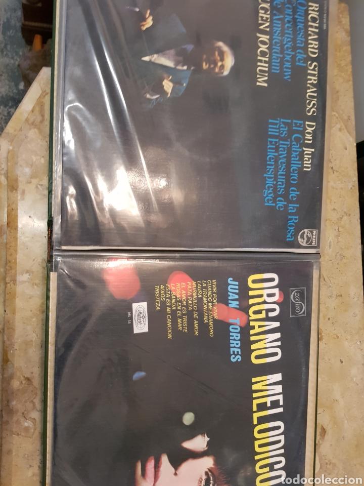 ALBUM CON 20 DISCOS VINILO LP ORIGINALES MUSCA CLASICA OPERA ZARZUELA VER  FOTOS