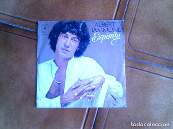 DISCO DE ALBERT HAMMOND ,ESPINITA Y FANTASMA AÑO 1978 (Música - Discos - Singles Vinilo - Cantautores Internacionales)