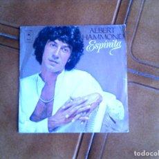 Discos de vinilo: DISCO DE ALBERT HAMMOND ,ESPINITA Y FANTASMA AÑO 1978. Lote 149452558