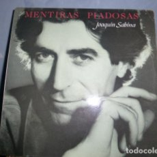 Discos de vinilo: JOAQUIN SABINA - MENTIRAS PIADOSAS - . Lote 149453934