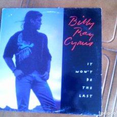 Discos de vinilo: LP DE BILLY RAY CYPRUS , IT WON,T BE THE LAST. Lote 149455962
