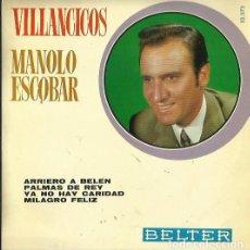 Discos de vinilo: MANOLO ESCOBAR. EP. SELLO BELTER. EDITADO EN ESPAÑA. AÑO 1970. Lote 149461058