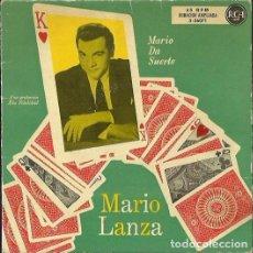 Discos de vinilo: MARIO LANZA. EP. SELLO RCA. EDITADO EN ESPAÑA.. Lote 149462042