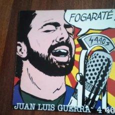Discos de vinilo: JUAN LUIS GUERRA 440-FOGARATE.LP ESPAÑA. Lote 149462670