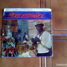 Discos de vinilo: DISCO DE NAT KING COLE CANTA EN ESPAÑOL 4 TEMAS 1959. Lote 149475474