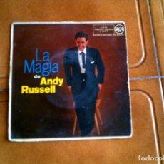 Discos de vinilo: DISCO LA MAGIA DE ANDY RUSSELL CONTIENE 4 TEMAS AÑO ,1959. Lote 149476678