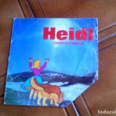 Discos de vinilo: DISCO DE LA HEIDI CANTA EN ESPAÑOL . Lote 149478690