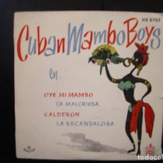 Discos de vinilo: CUBAN MAMBO BOYS- EP.. Lote 149480142