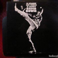 Discos de vinilo: DAVID BOWIE- EL HOMBRE QUE VENDIÓ EL MUNDO- LP.. Lote 149486758