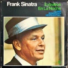 Discos de vinilo: EP. FRANK SINATRA. EXTRAÑOS EN LA NOCHE. (VG/VG+). Lote 149510770