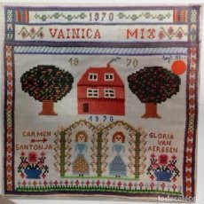 Discos de vinilo: VAINICA DOBLE - VAINICA MIX SG PROMO ED. ESPAÑOLA 1991. Lote 149516898