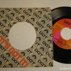 Discos de vinilo: THE CHUCK BARRIS SYNDICATE - DONNIE +1 - SINGLE USA DOT 1968 // BRILLANTE SUNSHINE POP PSYCH. Lote 149524826