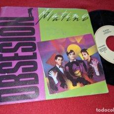 Discos de vinilo: PLATINO SE PUEDE DECIR/OBSESION 7'' SINGLE 1983 EMI MOVIDA POP. Lote 149530158
