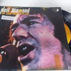 Discos de vinilo: SINGLE (VINILO) DE NEIL DIAMOND AÑOS 70. Lote 149554350