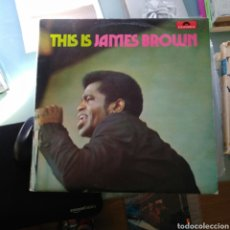 Discos de vinilo: JAMES BROWN – THIS IS JAMES BROWN. Lote 143239090