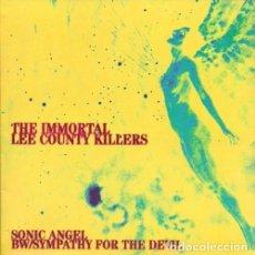 Discos de vinilo: IMMORTAL LEE COUNTY KILLERS – SONIC ANGEL B/W SYMPTHY FOR THE DEVIL SINGLE 7 ROCK, BLUES NOISE. Lote 149572578