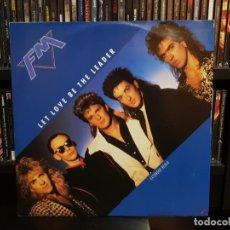 Discos de vinilo: FM - LET LOVE BE THE LEADER. Lote 149577054