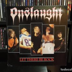 Discos de vinil: ONSLAUGHT - LET THERE BE ROCK - NUEVO. Lote 149582078