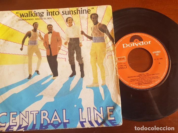 WALKING INTO SUNSHINE CENTRAL LINE (Música - Discos - Singles Vinilo - Pop - Rock - Extranjero de los 70)