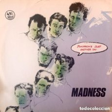 Discos de vinilo: MADNESS - TOMORROW'S JUST ANOTHER DAY - MAXI-SINGLE SPAIN 1983. Lote 149603858