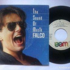 Discos de vinilo: FALCO - THE SOUND OF MUSIK - SINGLE PROMOCIONAL 1986 - WEA. Lote 149609394