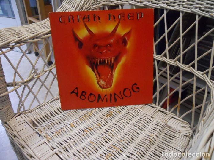 Uriah Heep Abominog Lp Edic Espanola 1982 Se Sold Through Direct Sale 149612198