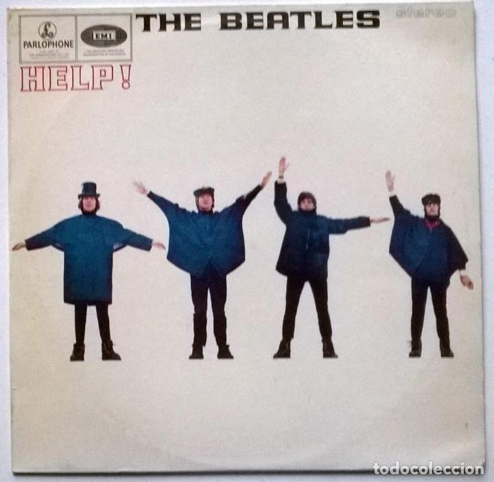 THE BEATLES. HELP. PARLOPHONE, HOLLAND 1965 LP (PCS 3071) (Música - Discos - LP Vinilo - Pop - Rock Extranjero de los 50 y 60)