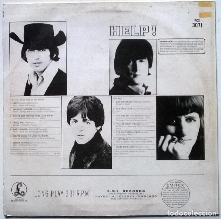 Discos de vinilo: The Beatles. Help. Parlophone, Holland 1965 LP (PCS 3071) - Foto 2 - 149612566
