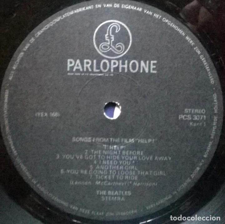 Discos de vinilo: The Beatles. Help. Parlophone, Holland 1965 LP (PCS 3071) - Foto 3 - 149612566