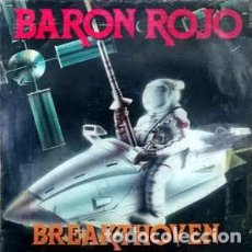 Discos de vinilo: BARON ROJO - BREAKTHOVEN– SINGLE VINILO. Lote 149635982