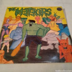 Discos de vinilo: THE METEORS. THE MUTANT MONKEY AND THE SURFERS FROM ZORCH. LP PSYCHOBILLY AÑOS 80. Lote 149637396