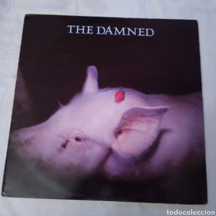 THE DAMNED. STRAWBERRIES LP AÑO 1986 (Música - Discos - LP Vinilo - Punk - Hard Core)